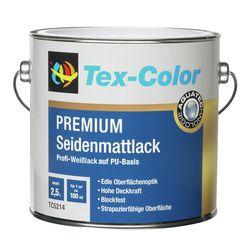 Seidenmattlack Premium weiß 2,5l