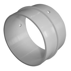 Innenverbinder weiss KST DN 100 mm