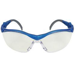 Schutzbrille BLAU/GRAU kratzfest