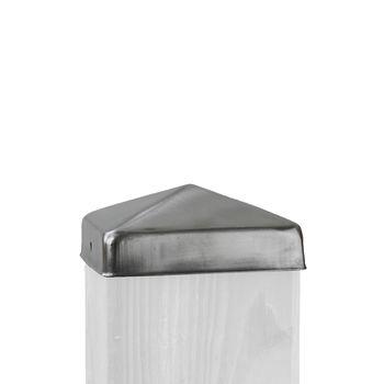Pfostenkappe für 90x90mm Edelstahl
