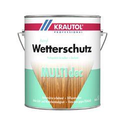 Wetterschutzfarbe Multidec weiß 2,5l