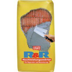 Lugato Hochleistungsmörtel R&R in verschiedenen Sackgrößen