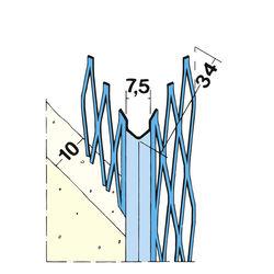 Kantenprofil Innen 1007 10mm 1,8m