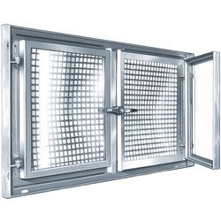 MEALIT Stahlfenster vz. 2-flg. 90x50cm