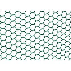 Sechseckgeflecht grün 25x25 mm 1,0x10 m