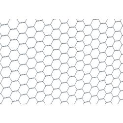 Sechseckgeflecht verz. 13x13 mm 0,5x10 m