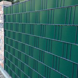 Zaunblende PVC Easy 0,19x2,55m grün