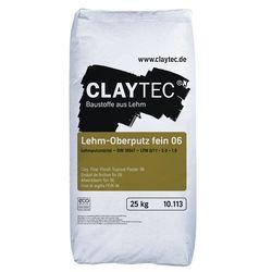 Lehm-Oberputz fein 06 25kg