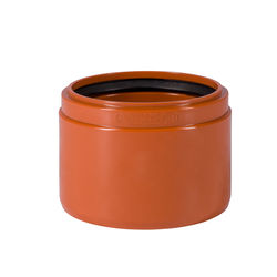 KG-Anschluß an Steinzeug Muffe USM NW110