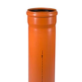 KGEM Rohr mit Muffe DN/OD 315 1,0m