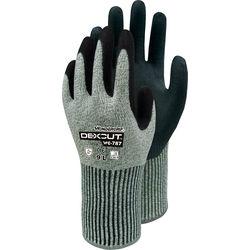 Handschuhe Wonder GripCut 5 grün/grau 11