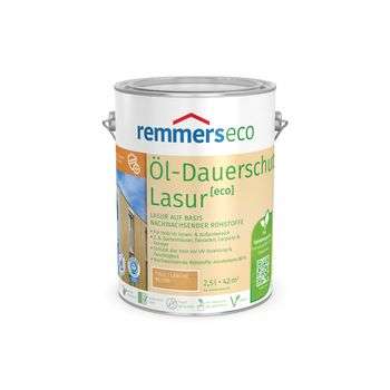 Öl-Dauerschutz-Lasur eco eiche hell 2,5l