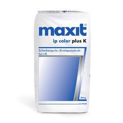 maxit ip color plus K weiß 2mm 30kg