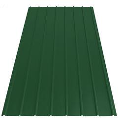 Trapezblech PP12 grün 2000x910x0,40mm