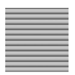 Zaun Set Basic SYSTEM Metall si. 179x180
