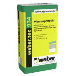 weber.tec 934 Wassersperrputz WSP 25kg