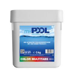 Chlor Tabs Multi Tabl. 200gr. 5kg Dose
