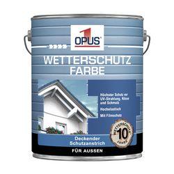 OPUS1 Wetterschutzfarbe reinweiß 5L