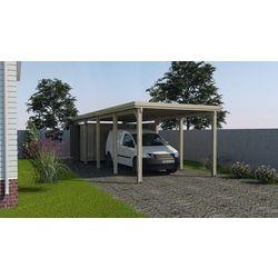 Einzelcarport 617 Gr 3 ohne Dachplatten