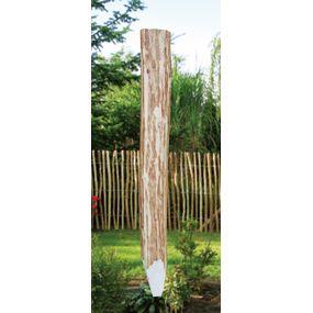 Kastanienpfahl gespitzt 6-10cm 150cm