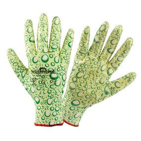 Gartenhandschuh Drops grün Gr. 9