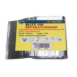 Reparaturband BLITZ Alu glanz 100mmx1,5m