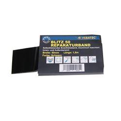 Reparaturband BLITZ Alu schwarz50mmx1,5m