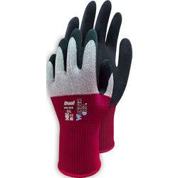 Handschuh WonderGrip DUALgrau/rot  Gr.10