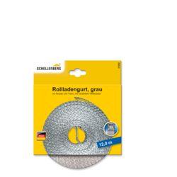 Rollladengurt 23 mm/12,0 m grau