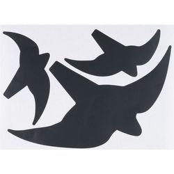 Vogelsortiment 3-er Set schwarz 7 mm