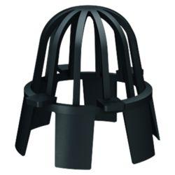 ACO Hexaline 2.0 Laubfang schwarz 63mm