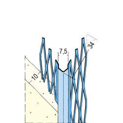 Kantenprofil Innen 10077 10mm 2,6m