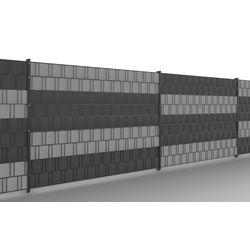 PVC-Sichtschutzstreifen für DSM anthr.