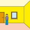 Große Räume wirken mit intensiven Farben freundlich