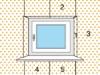 Vorgehensweise Fensternischen-Tapezierung