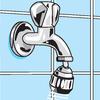 Wasserregulierung aufgrund schwenkbarer Perlstrahler