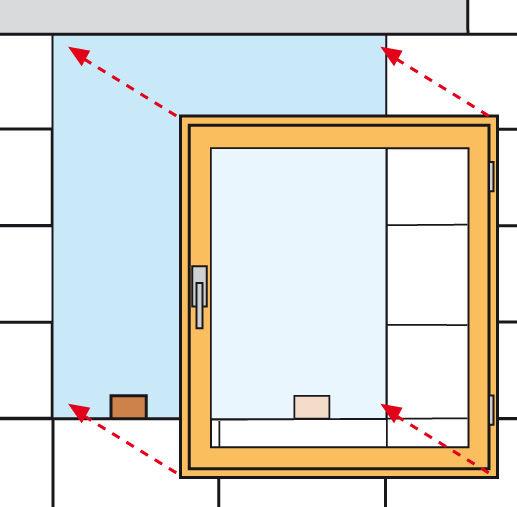 fenster einbauen swalif. Black Bedroom Furniture Sets. Home Design Ideas