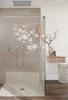 Dusche mit eigenem Bodendesign