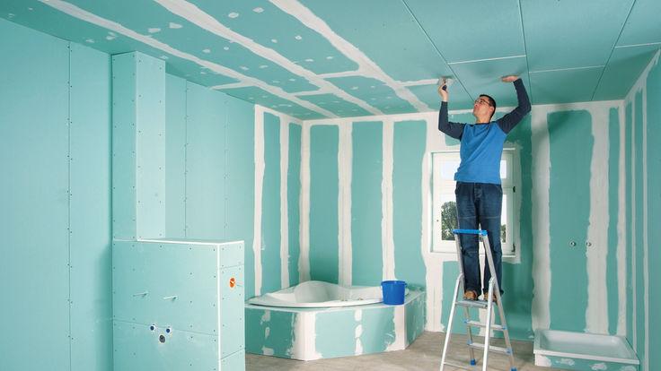 trockener innenausbau im nassbereich. Black Bedroom Furniture Sets. Home Design Ideas