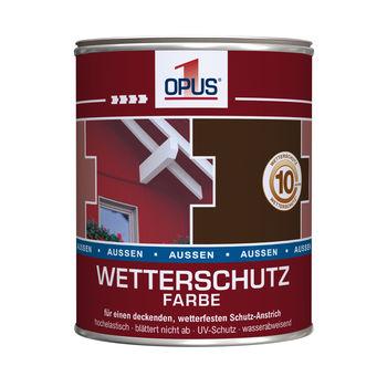 OPUS1 wetterschutz schwedenrot seidenglänzend 0.75 l