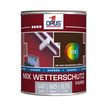 OPUS1 wetterschutz  seidenglänzend 0.75 l
