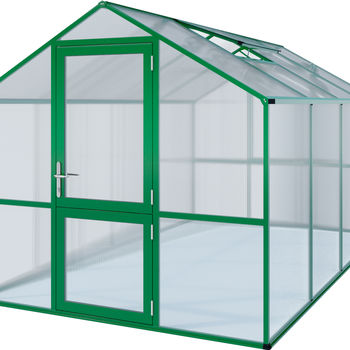 Gewächshaus Modell Rose IV moosgrün