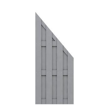 TraumGarten Sichtschutz JUMBO WPC grau
