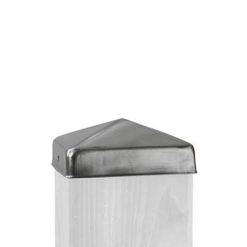 TraumGarten Pfostenkappe für 90x90mm Edelstahl