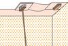 Decken-Tapezierung