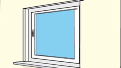 Zimmerfenster