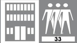 Beanspruchungsklasse Großraumbüro, Kaufhäuser