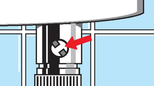 Duscharmatur mit Durchflussbegrenzer
