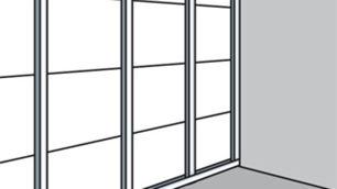 Beplanken der ersten Wandseite