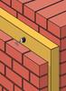 Zweischaliges Mauerwerk mit Zwischendämmung